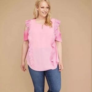 NWT LANE BRYANT Womans Plus Size Top Size 24